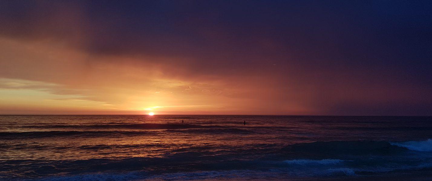 soulsurfing sunset surf surfing ocean sea Santa Cruz Surfhouse